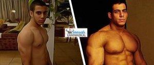 قبل و بعد: تعليق زين  باكا-مارسيليا على علاج دينابول